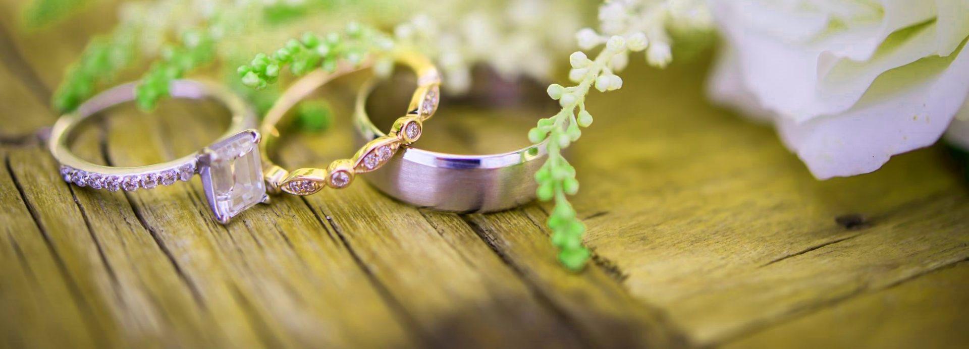 E Titanium Rings